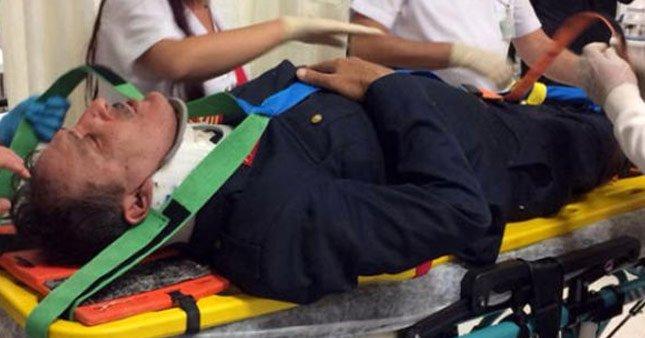 Cem Özer korkuttu hastaneye kaldırıldı