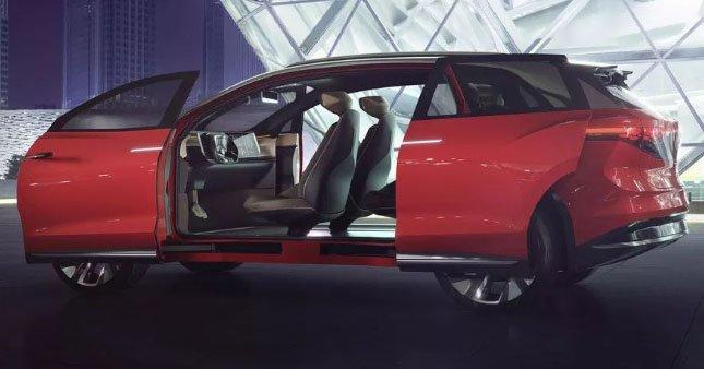 Volkswagen'in elektrikli SUV konsepti