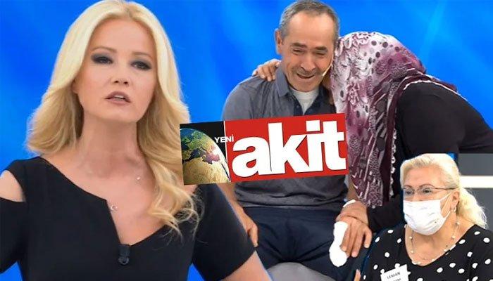 Yeni Akit gazetesi Müge Anlı'yı hedef gösterdi