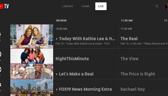 YouTube TV arayüzü kapanıyor