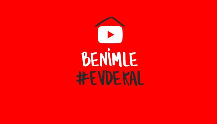 YouTube'dan 'Benimle #EvdeKal' projesi!