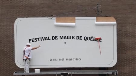 Quebec City Magic Festival - Magic Mop
