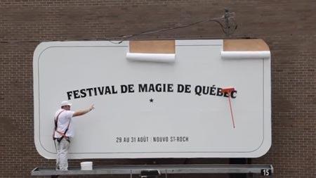Quebec City Magic Festival - Magic Mop