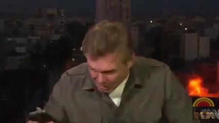 CNN canlı yayınında bomba patladı