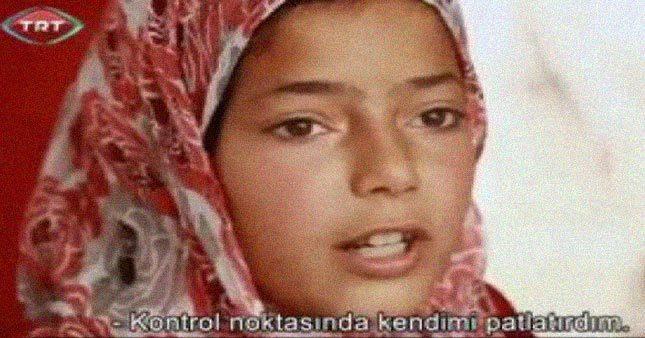 Devletin resmi kanalı TRT'de canlı bomba propagandası yapıldı. TRT Belgesel, kanalında skandal görüntülere yer verdi.