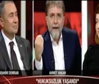 Ahmet Hakan canlı yayında çıldırdı