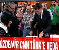 Cüneyt Özdemir'den CNN Türk'e veda