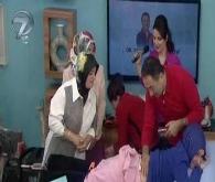 Feridun Kunak'ın programında çıplak tesettürlü kadın!