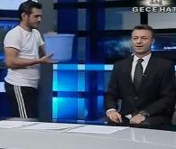 Mustafa Yenigün, canlı yayında meydan okudu