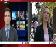 TRT spikeri canlı yayında fena yakalandı